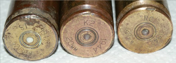 20mm headstamps