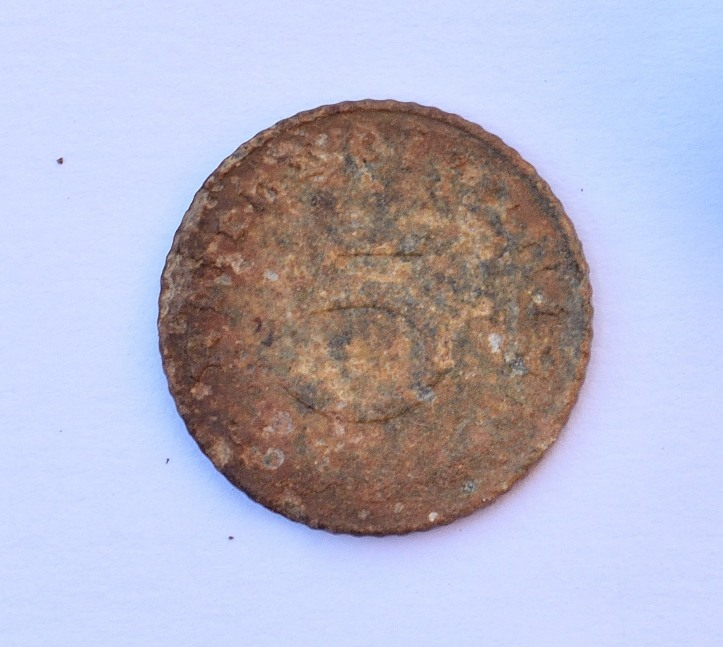 German pfennig front