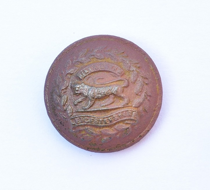 Leicestershire regiment button