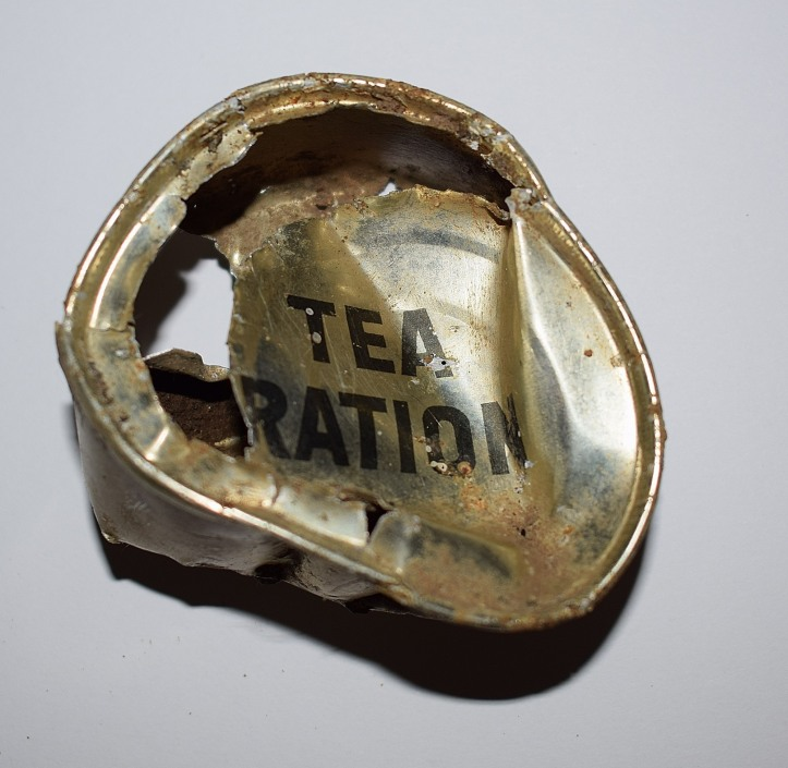 Tea ration tin