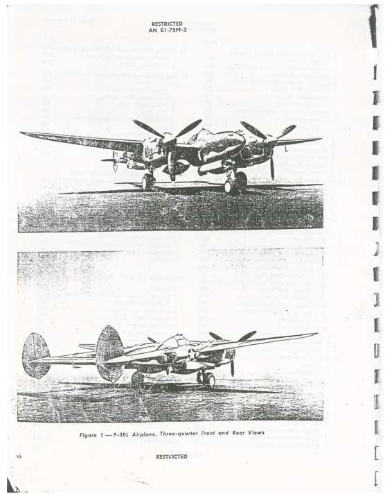Army Model P-38L-1 Airplane (AN 01-75FF-2) (Part 1)-07